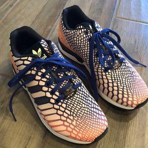 adidas Shoes - Adidas ZX Torsion Flux Orange/Glow/Navy